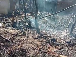 વડોદરાના તરસવા ગામમાં મકાનમાં આગ, ૬ વર્ષનું બાળક આગમાં ભડથું