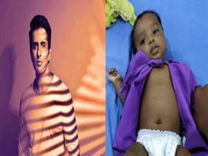 સોનુ સૂદ Treatment - Heart disease Child