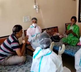 સમરસ કોવિડ કેર સેન્ટરમાં દર્દીઓની સારવારની સાથે સેવા સમરસ