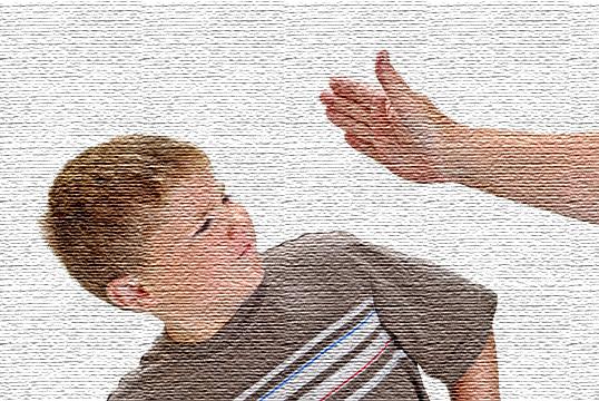 બાળકોને થપ્પડ