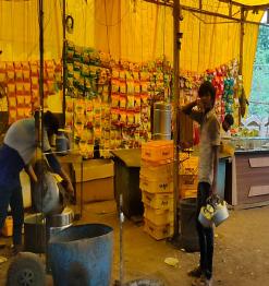 મીની લોકડાઉન : આજી જીઆઇડીસીમાં દુકાનો અનલોક! જીઆઇડીસી