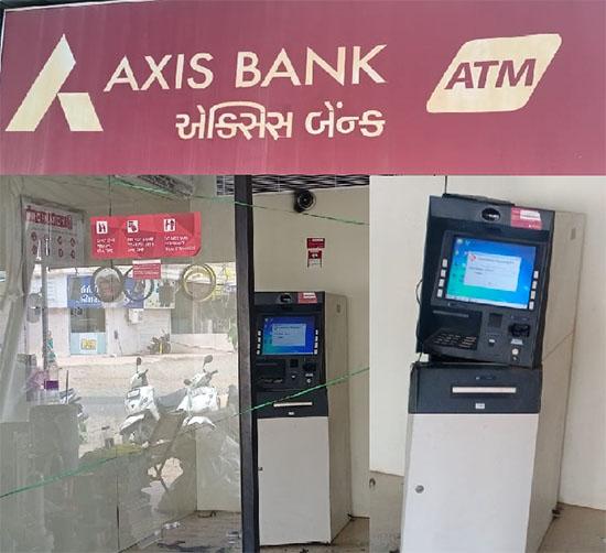 નાગેશ્વર પાસે બે ATM માથી રૂ.16 લાખથી વધુની ચોરી