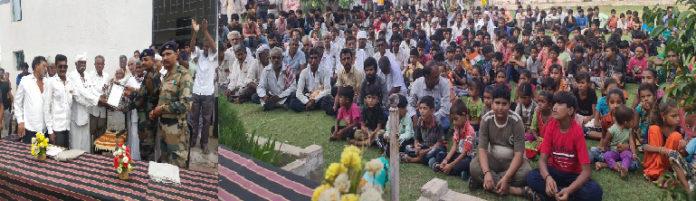 મિયાણીના 2 સગા ભાઈઓ ઈન્ડિયન આર્મીમાં નિવૃત થતા ગ્રામજનો દ્વારા સ્વાગત, સન્માન કરાયું